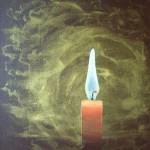 40x30 cm Kerze Stillleben