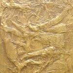 60x20 cm Goldbraun