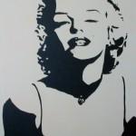 70x80 cm Marilyn Monroe