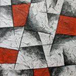 Rot-schwarz-weiß