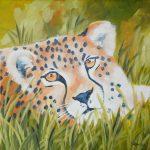 Gepard 30x30 cm